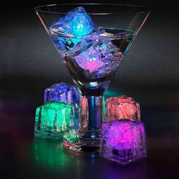 Led Light Ice Cubes