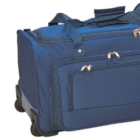 Çek çekli seyahat çantası.