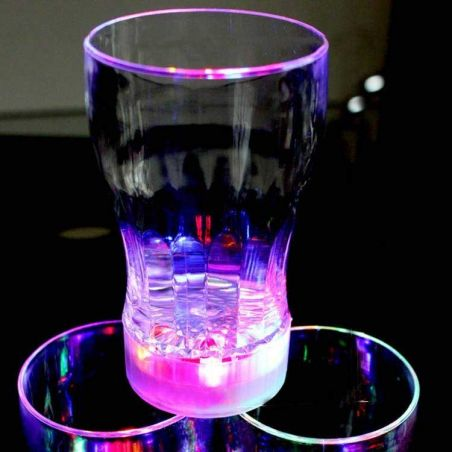 4 Pcs. Led Light Cocktail Glass