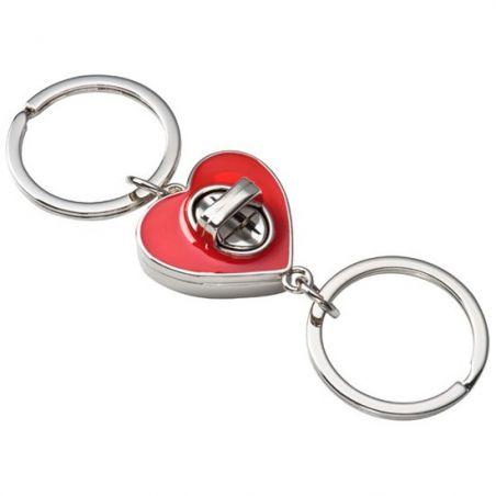 Kalp Şeklinde Anahtarlık