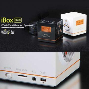 Ibox Fm Radio Mp Player Black
