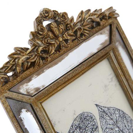 Aynalı Bronz Fotoğraf Çerçevesi
