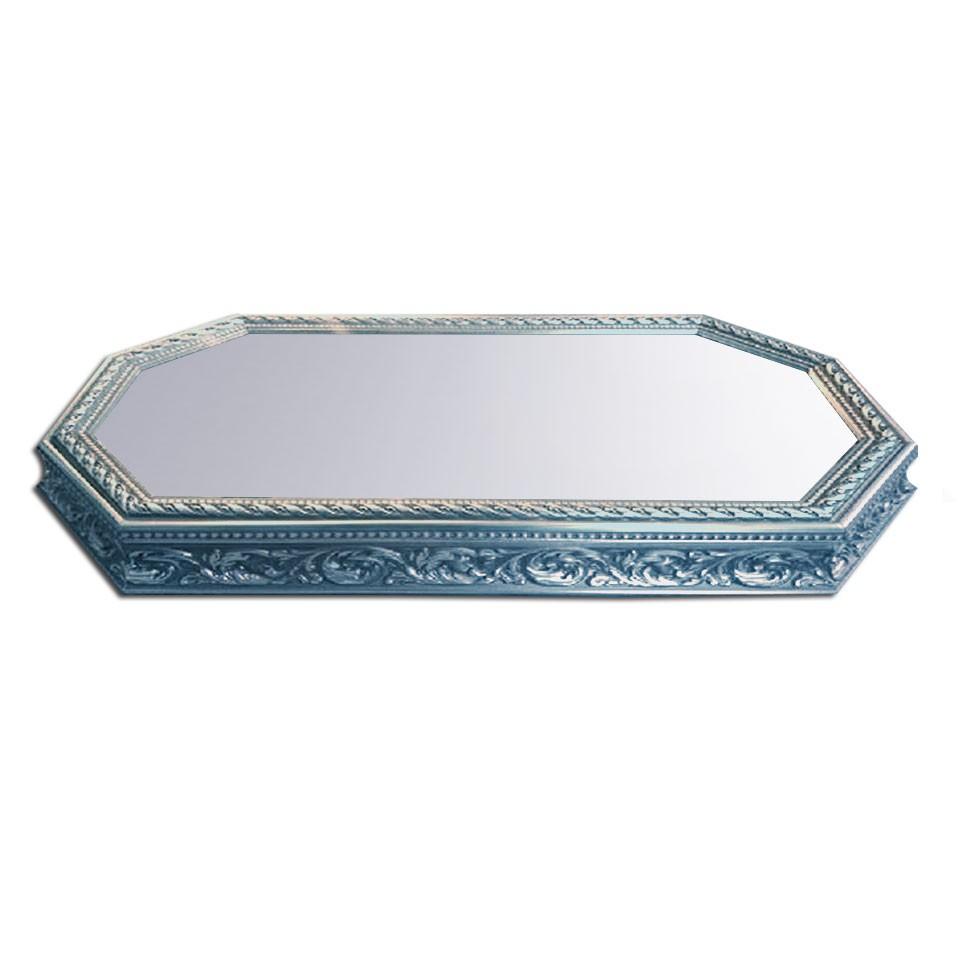 Gümüş renk Aynalı Jardinyer