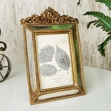 Antique Bronze Photo Frame