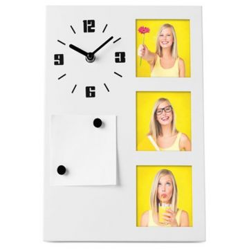 Table Clock With Photo Frame