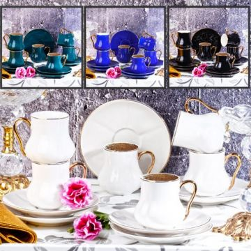 Coffee Cup Set Blue