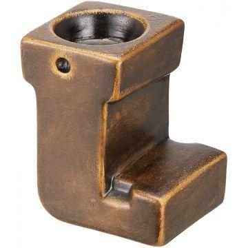 Ceramic Candlestick --- J ---