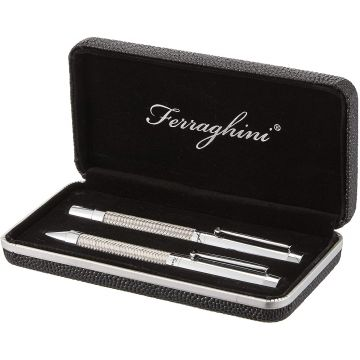 Ferraghini Pen Set In Gift Box