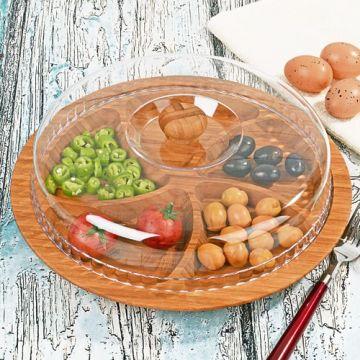 Wooden Breakfast Bowl
