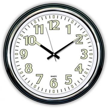 Luminous Wall Clock 46cm