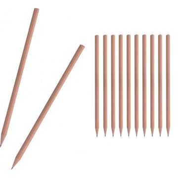 12 Pcs. Natural Pencils