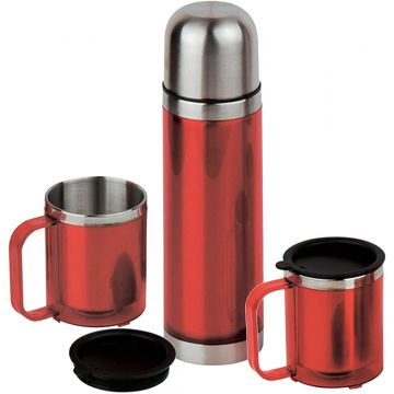 Stainless Steel Flask Set...