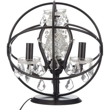 Metal Crystal Lampshade