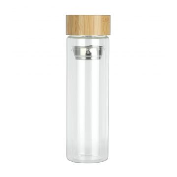 Sports Bottle With Strainer...