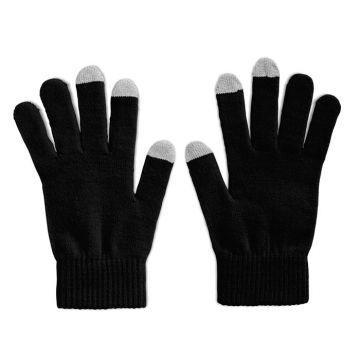 Mobile Phone Gloves - Black