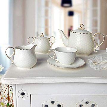 Porcelain Tea Milk and...