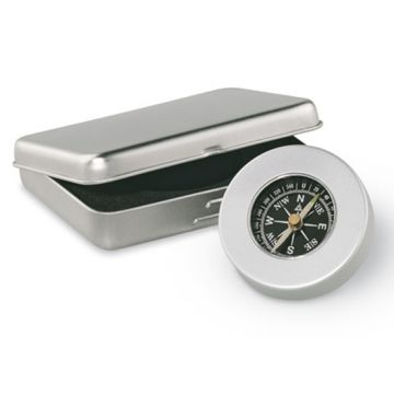 Metal Boxed Compass