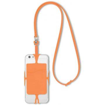 Phone & Card Holder