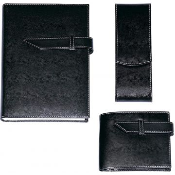 Leather Set In Gift Box