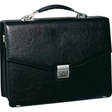 PU-Leather Document Bag