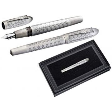 Mark Twain Silver Fountain Pen