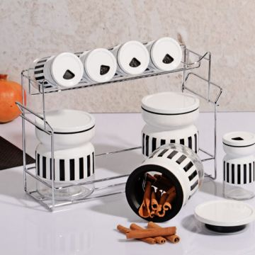 8 Piece Spice Rack
