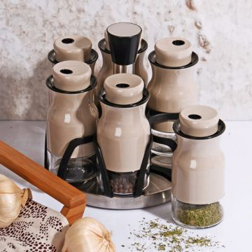 6 Piece Spice Rack