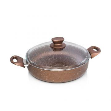 Bronze Flat Saucepan  - 24cm