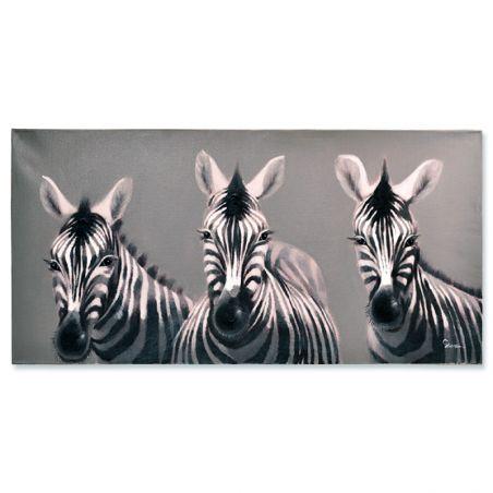 Zebra Yağlı Boya Tablo