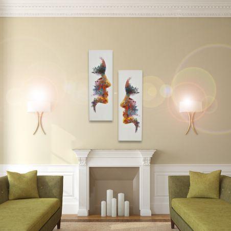 Yağlı boya tablo (2li set)