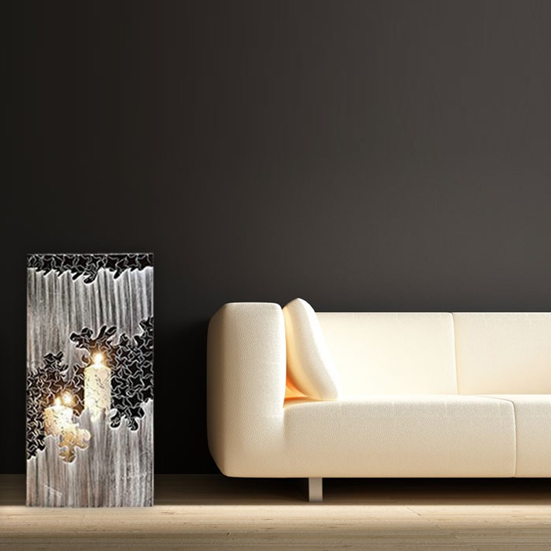 Patika küçük dekoratif fener