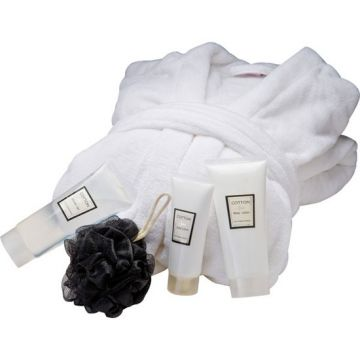 Ladies Bathrobe Set