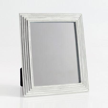 Brezy Ayna Eskitme Gri - Beyaz