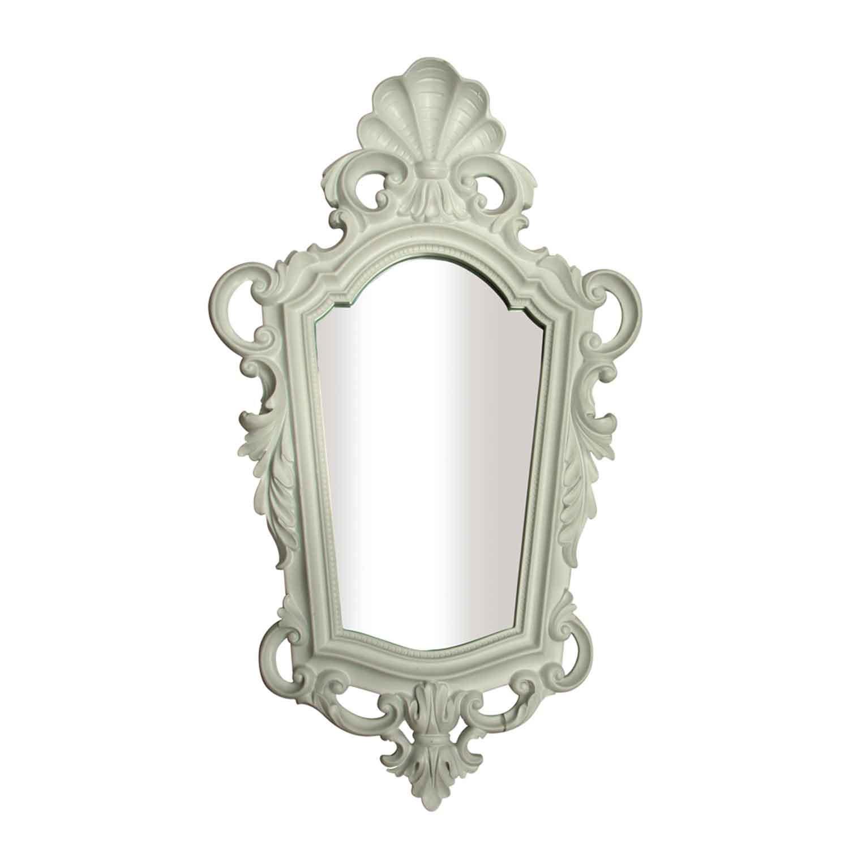 Antik Krem Ayna